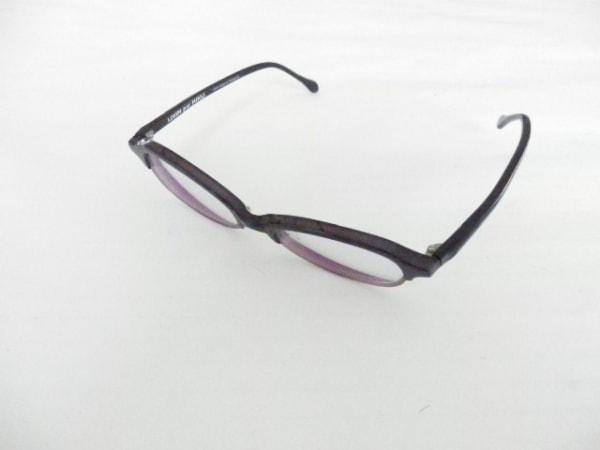 MIKLI par MIKLI(ミクリ) メガネ 6765 クリア×パープル×黒 度入り プラスチック