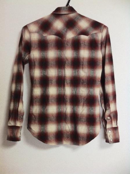 RLX(RalphLauren)(ラルフローレン) 長袖シャツ メンズ レッド×白×黒 チェック柄