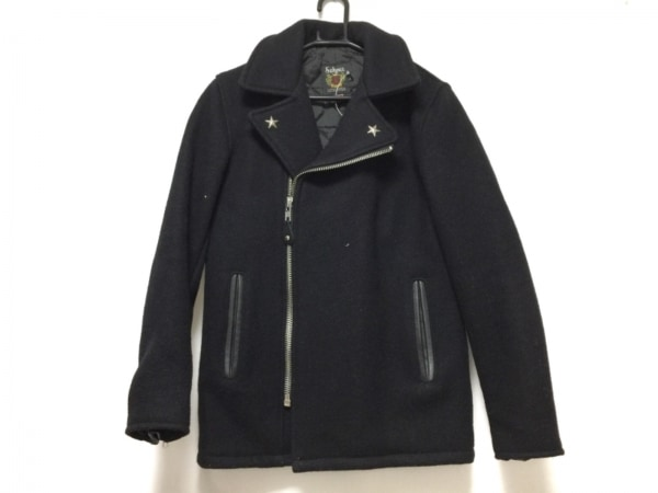 schott(ショット) ライダースジャケット サイズ30 XS レディース 黒