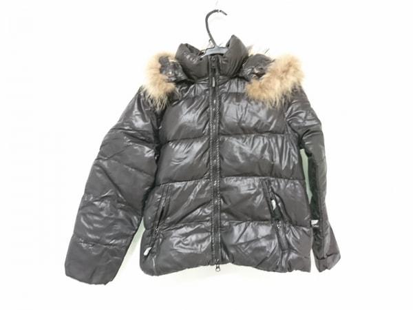 PYRENEX(ピレネックス) ダウンジャケット サイズ00 XS レディース 黒 ファー/冬物