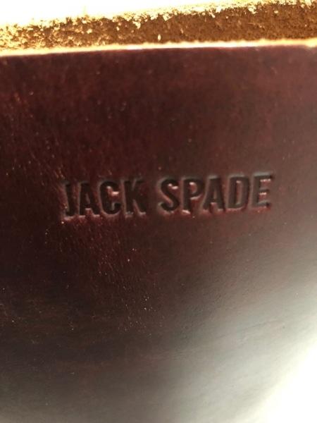 JACK SPADE(ジャックスペード) トートバッグ ダークブラウン レザー