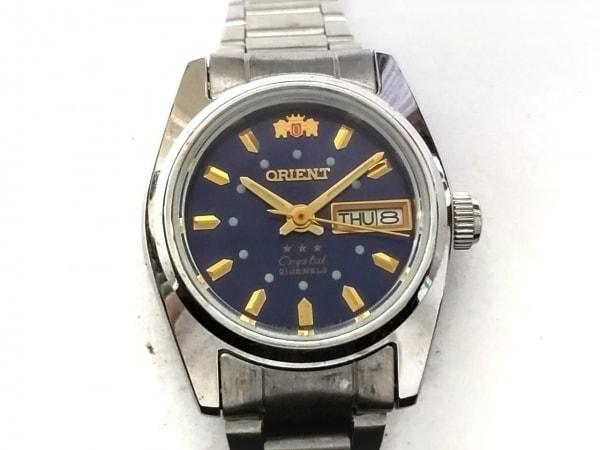 ORIENT(オリエント) 腕時計 スリースター 559WC8-02 レディース ネイビー