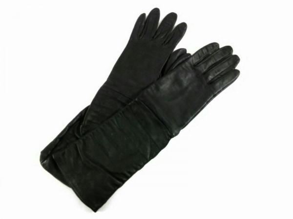 INED(イネド) 手袋 レディース 黒 レザー