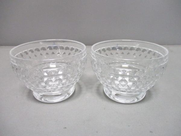 Villeroy&Boch(ビレロイ&ボッホ) 食器新品同様  クリア ボウル×2 ガラス