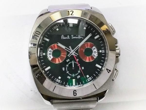 PaulSmith(ポールスミス) 腕時計 GN-4W-S メンズ クロノグラフ グリーン