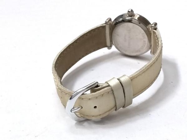 marie claire(マリクレール) 腕時計 - - レディース 革ベルト 白