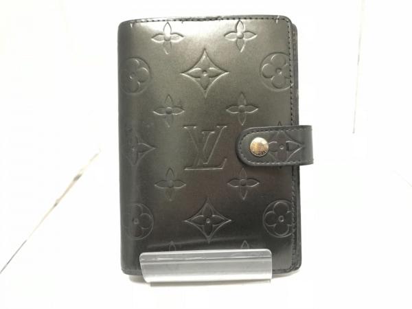 ルイヴィトン 手帳 モノグラムマット アジェンダPM R20932 ノワール カーフ