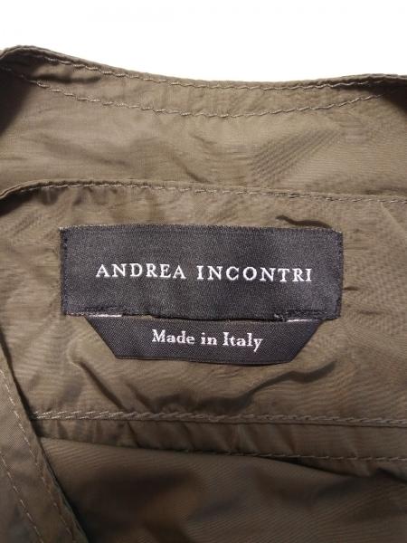 ANDREA INCONTRI(アンドレア インコントリ) コート メンズ ダークブラウン