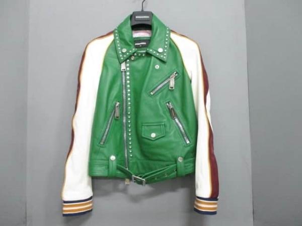 DSQUARED2(ディースクエアード) ライダースジャケット サイズ36 S レディース