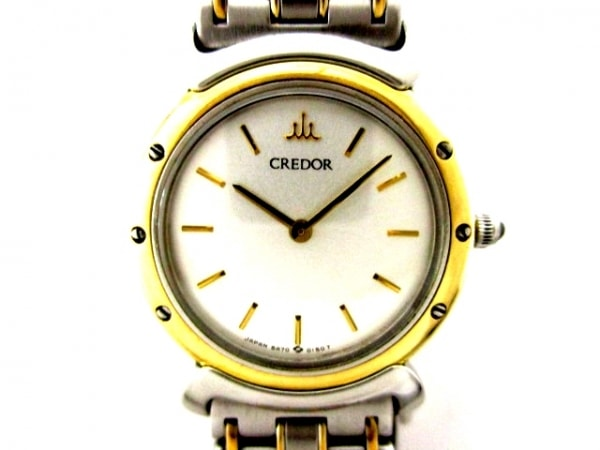 SEIKO CREDOR(セイコークレドール) 腕時計 5A70-0040 レディース 白