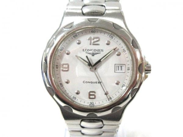 LONGINES(ロンジン) 腕時計美品  コンクエスト L1.631.4 メンズ 白