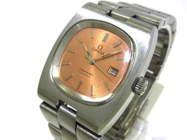 OMEGA(オメガ) 腕時計 シーマスター - レディース ピンク