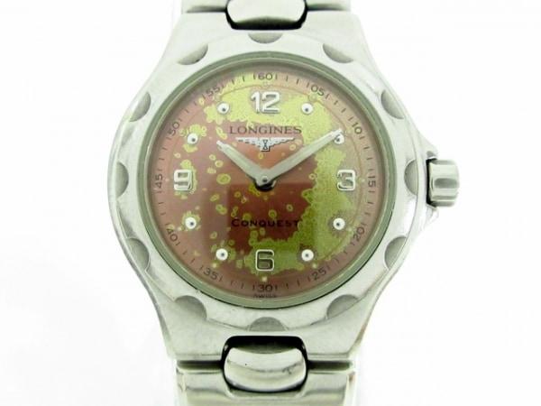 LONGINES(ロンジン) 腕時計 コンクエスト L1.130.4 レディース ピンク