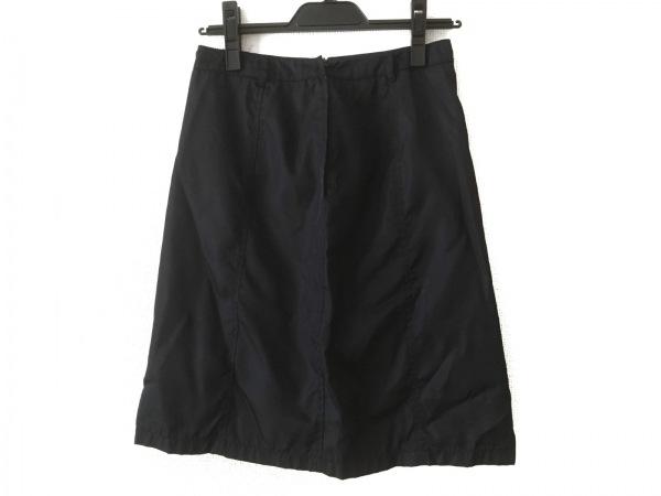 PRADA(プラダ) スカート サイズS レディース ダークネイビー