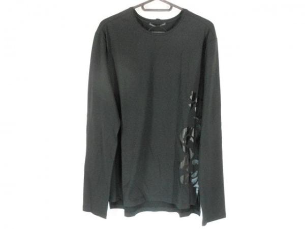 ERMANNO SCERVINO(エルマノシェルビーノ) 長袖Tシャツ サイズ50 メンズ美品  黒