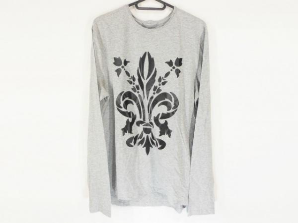 ERMANNO SCERVINO(エルマノシェルビーノ) 半袖Tシャツ サイズ50 メンズ美品  グレー