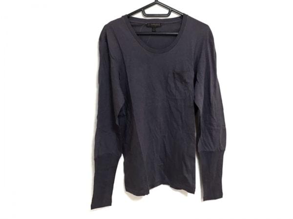 BURBERRY PRORSUM(バーバリープローサム) 長袖Tシャツ サイズL  L メンズ パープル
