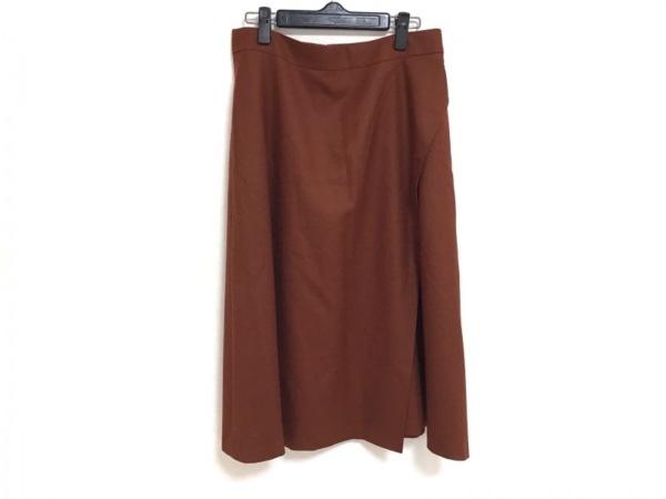 23区(ニジュウサンク) ロングスカート サイズ44 L レディース美品  ブラウン