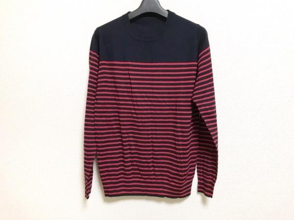 ユニフォームエクスペリメント 長袖セーター サイズ1 S メンズ美品  ボーダー