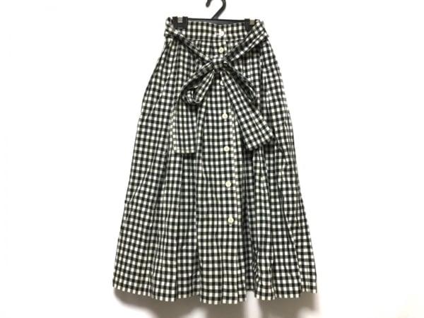 クリスチャンディオールスポーツ ロングスカート サイズM レディース 白×黒