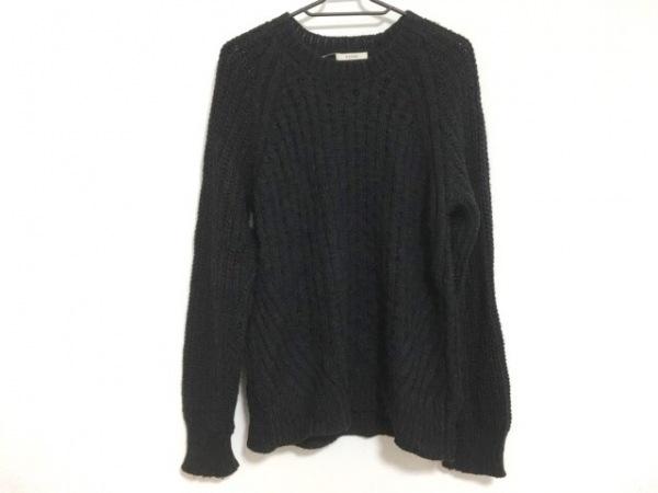 EATME(イートミー) 長袖セーター サイズF レディース 黒