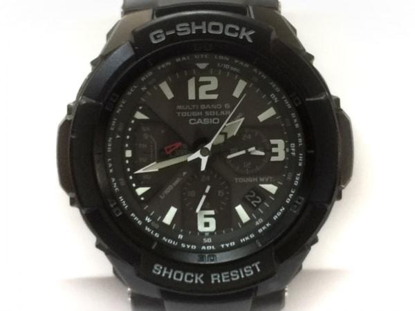 CASIO(カシオ) 腕時計美品  G-SHOCK GW-3000BB メンズ ラバーベルト 黒