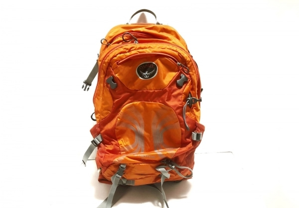 OSPREY(オスプレー) リュックサック オレンジ×グレー STRATOS24 ナイロン