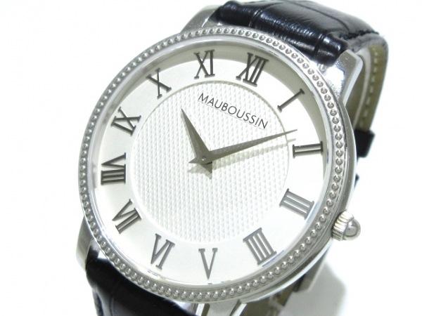 モーブッサン 腕時計美品  ジャルダン・ドゥ・パレ・ロワイヤル 9292300-656 メンズ
