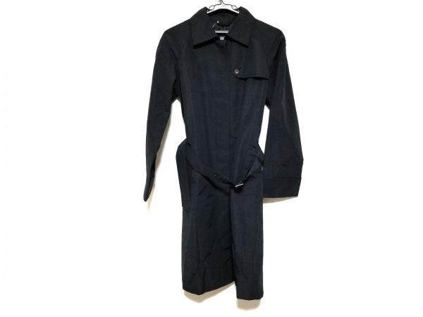 バーバリーロンドン コート サイズ40 L レディース美品  黒 春・秋物