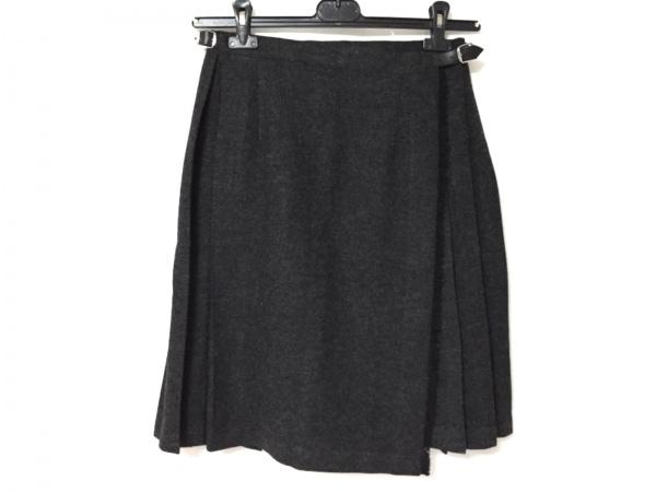O'NEIL(オニール) 巻きスカート サイズ40 M レディース新品同様  ダークグレー