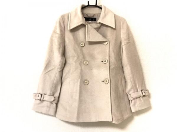 INED(イネド) コート サイズ9 M レディース美品  ベージュ 冬物
