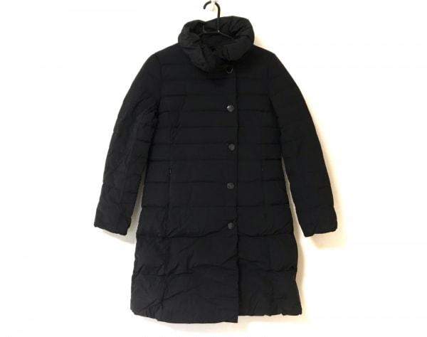 BEAMS(ビームス) ダウンコート サイズ38 M レディース美品  黒 冬物/Demi-Luxe
