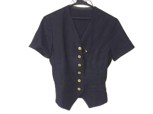ChristianDior(クリスチャンディオール) ジャケット レディース 黒 半袖