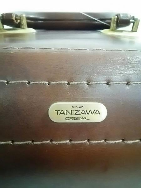 GINZA TANIZAWA(銀座タニザワ) トランクケース ダークブラウン レザー