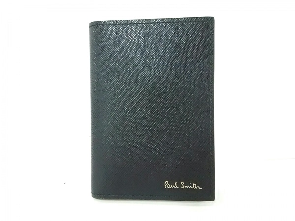 PaulSmith(ポールスミス) カードケース美品  黒 レザー