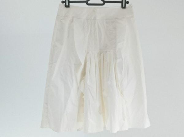 VALENTINO ROMA(バレンチノローマ) スカート サイズ40 M レディース美品  アイボリー