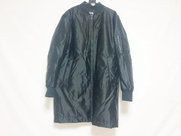 MSGM(エムエスジィエム) ダウンコート サイズ46 XL メンズ美品  黒 冬物