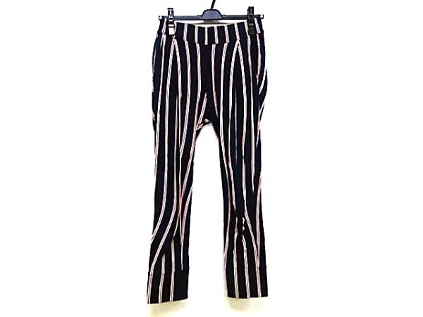 PHEENY(フィーニー) パンツ サイズ1 S レディース ネイビー×白×レッド