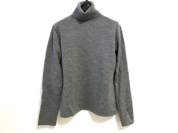 マックスマーラ 長袖セーター サイズM レディース美品  グレー タートルネック