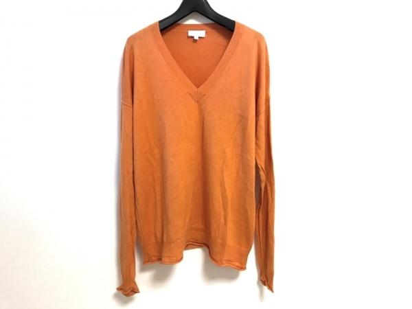 ESCADA(エスカーダ) 長袖セーター サイズS メンズ オレンジ SPORT