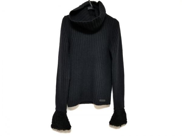 バーバリーブルーレーベル 長袖セーター サイズ38 M レディース美品  黒