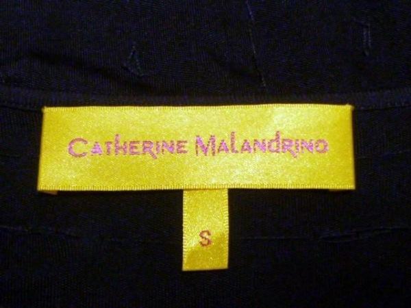 キャサリンマランドリーノ ワンピース サイズS レディース 黒 スパンコール