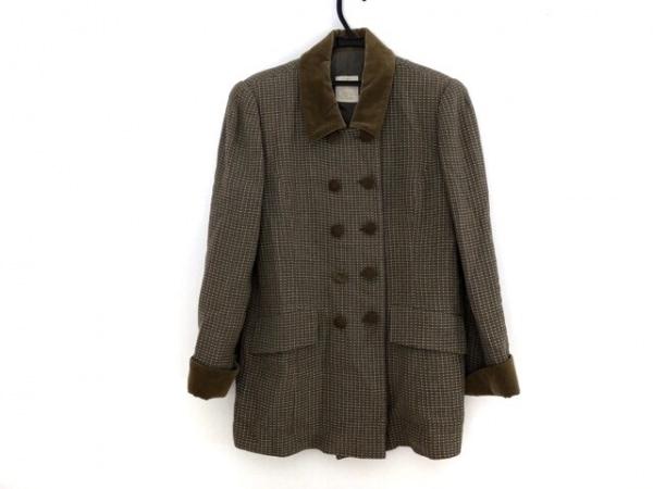Libra(リブラ) ジャケット サイズ13 L レディース ブラウン×カーキ