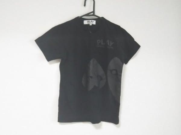 プレイコムデギャルソン 半袖Tシャツ サイズS レディース美品  黒