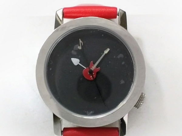 AKTEO(アクティオ) 腕時計美品  - レディース 革ベルト 黒
