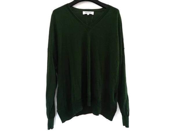 ENFOLD(エンフォルド) 長袖セーター サイズ38 M レディース ダークグリーン