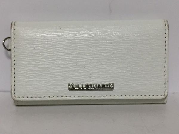 JILL STUART(ジルスチュアート) キーケース 白 6連フック レザー
