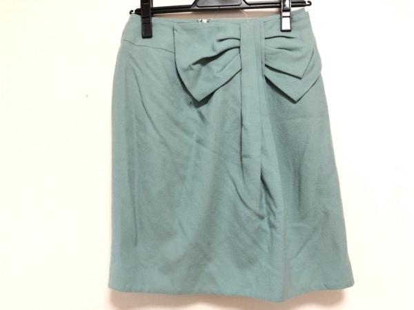 JUSGLITTY(ジャスグリッティー) スカート サイズ2 M レディース ライトグリーン