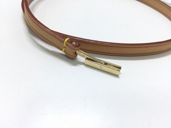ルイヴィトン 携帯ストラップ ヌメ革美品  コリエ・テレフォン ジャポン M63055
