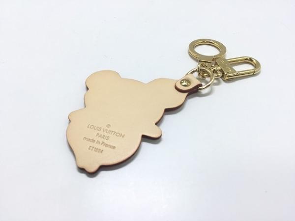 ルイヴィトン キーホルダー(チャーム) モノグラムパンダ美品  ポルト・クレ M62637